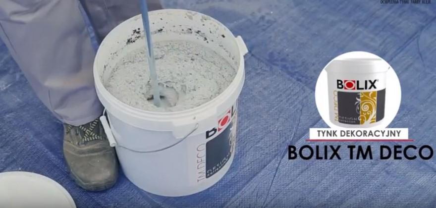 BOLIX Rys. 3 Przygotowanie masy tynkarskiej