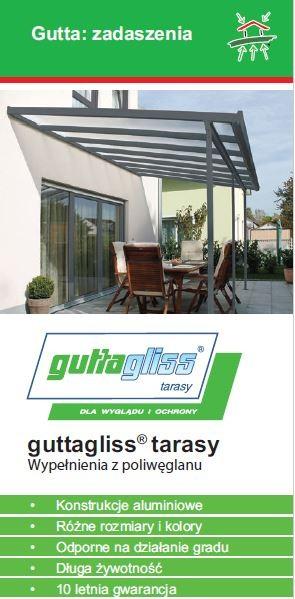 GUTTA - zadaszenie drzwi, tarasów czy altanek