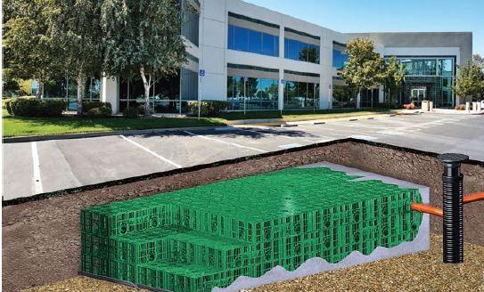 Skrzynki mogą być montowane zarówno w terenie zielonym jak i pod drogami czy parkingami.