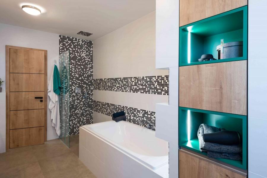 Oświetlenie dekoracyjne łazienki