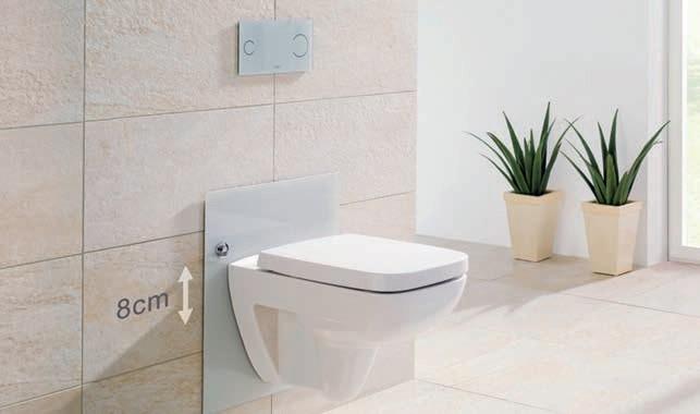 Zdj 6. Stelaż WC z regulacją wysokości sedesu