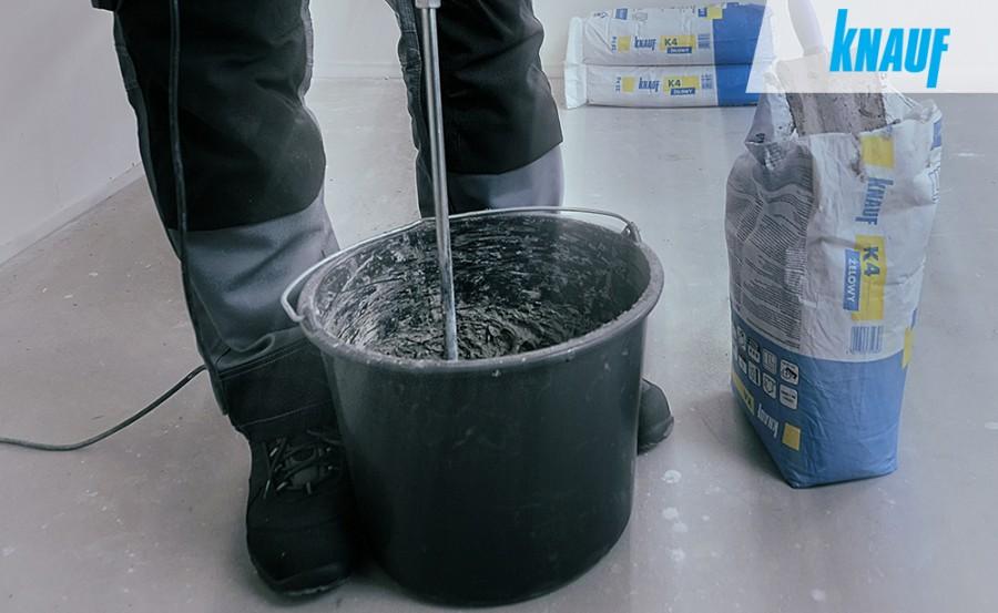 Klej do płytek na ogrzewanie podłogowe Knauf K4 Żelowy