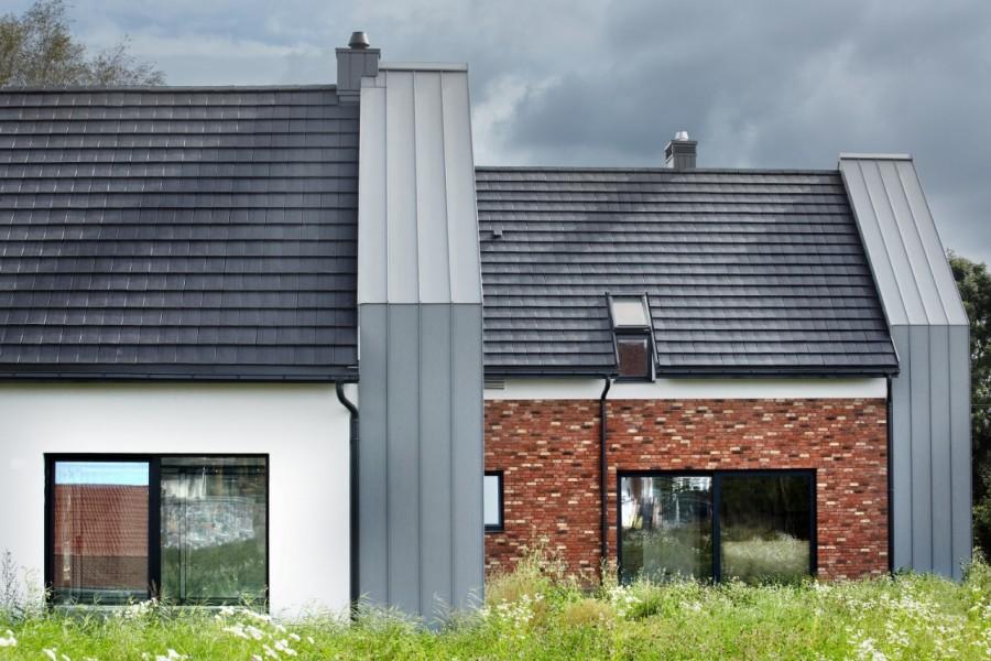 Nowoczesny dom charakteryzuje się zwartą bryłą (fot. Wienerberger)