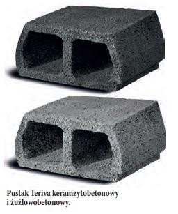 PEBEK - Pustak Teriva keramzytobetonowy i żużlowobetonowy.