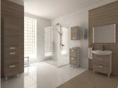 Inspiracja: Duża łazienka krok po kroku