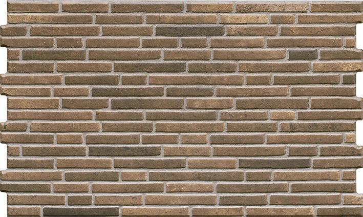 Inspiracja: Kamień elewacyjny TULSI TERRA 490x300x10 mm