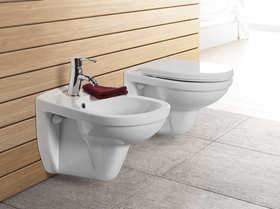 Minimalistyczna strefa toaletowa
