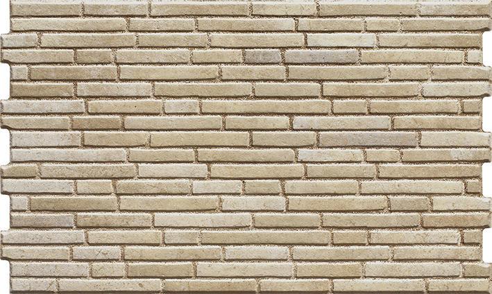Inspiracja: Kamień elewacyjny TULSI DESERT 490x300x10 mm