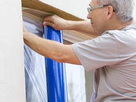 Scley - folia samoprzylepna  do zabezpieczania okien, schodów, drzwi i.in.