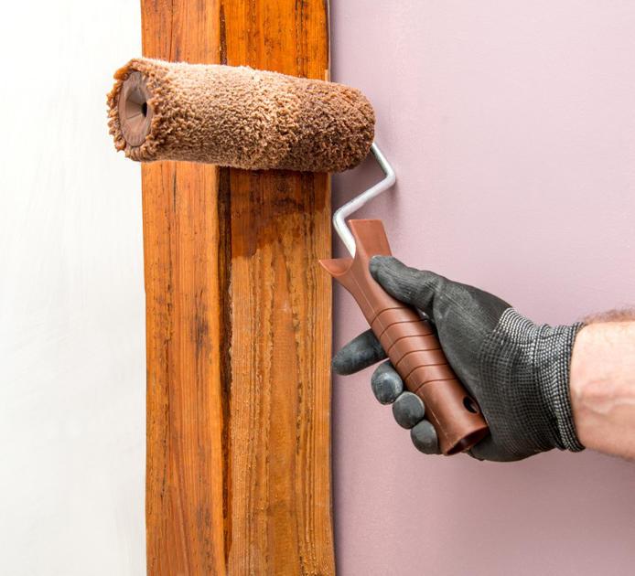 Inspiracja: Narzędzia do malowania środkami ochrony drewna HARDY