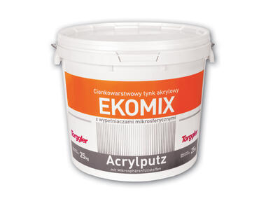 Tynk akrylowy Ekomix baza B baranek 2 mm TORGGLER