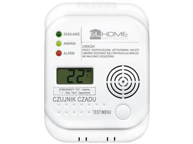 Zestaw czujników czadu El Home CD-75A4 Z LCD EURA-TECH