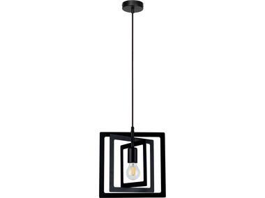 Lampa wisząca Justyna 60 W czarna SPOTLIGHT
