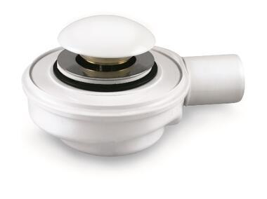 Syfon brodzikowy Speed 2 -fi50,wys.50mm,30l/min,czyszczony z góry, mosiężny klik-klak AKCES