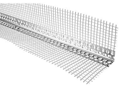 Narożnik aluminiowy z siatką 7/7 - 3 m PSB - 100 szt SILA