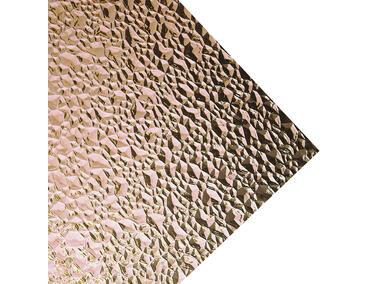 Robelit - szkło z polistyrenu, punkty diamentowe dymne 120x64/2,5