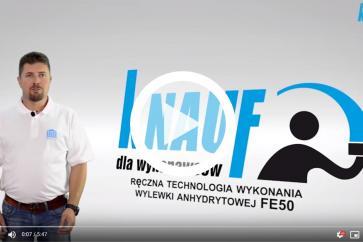 Knauf dla wykonawców - ręczna technologia wykonania wylewki anhydrytowej FE50