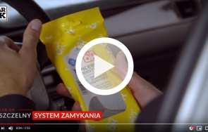 Nawilżone ściereczki czyszczące CAR OK - PROFAST