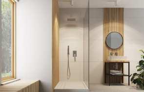 Baterie prysznicowe podtynkowe – korzyści, ograniczenia w stosowaniu, montaż