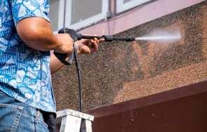 Samodzielne czyszczenie tynkowanej elewacji