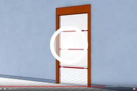 Jak zamontować drzwi wewnątrzlokalowe bezprzylgowe z ościeżnicą regulowaną?