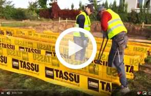 TASSU - szalunki fundamentowe LAMMI-FUNDAMENT