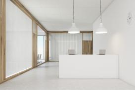 Modułowy sufit może być jednolitą, gładką powierzchnią