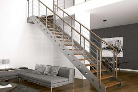 Wymiary schodów wewnętrznych