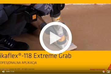 Sikaflex® - 118 Extreme Grab miejsca zastosowania - SIKA