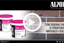 Jak wykonać tynk dekoracyjny imitujący cegłę przy zastosowaniu produktów marki ALPOL?