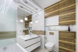 Funkcjonalne oświetlenie łazienki