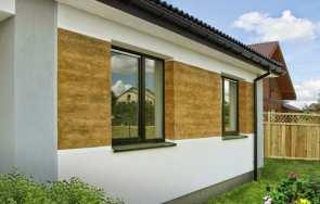 Tynki drewnopodobne – sposób na atrakcyjną elewację