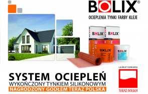 System ociepleń wykończony tynkiem silikonowym został wyróżniony godłem Teraz Polska.