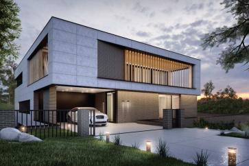 Elewacje z elastycznego betonu architektonicznego