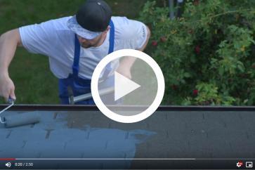 Wodoszczelna farba renowacyjna do dachów i nie tylko!