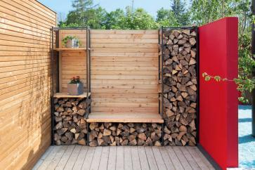 Drewno ułożone jak należy