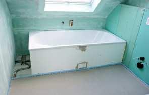 Prawidłowy montaż wanny łazienkowej