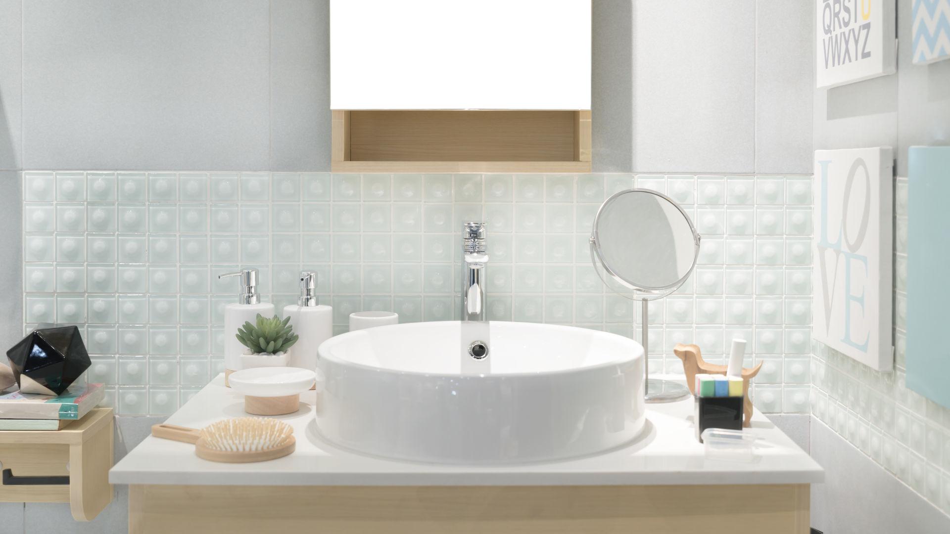 Mała łazienka Jak Zaaranżować Strefę Umywalkową