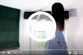 Zobacz metamorfozę kuchni otwartej na salon przy pomocy dekoracji okiennych!
