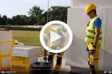 System budowy i ocieplania ścian Ytong Multipor ETICS