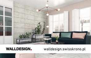 Artykuł: Kamień i beton na ścianie – megatrend wnętrzarski