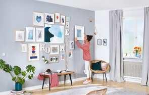 Mocowanie do ściany bez wiercenia - Inteligentny System Montażu tesa®