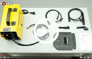 Wielofunkcyjne urządzenie spawalnicze PIROTEC PSIF 141/1 - HARDER