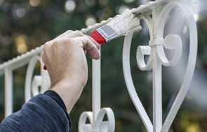 Malowanie ogrodzenia metalowego