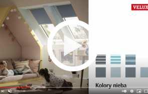 Nowa kolekcja rolet na okna dachowe VELUX - znajdź swój kolor nieba!