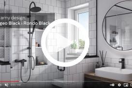 Baterie łazienkowe ALGEO BLACK - Czarny design od FERRO!