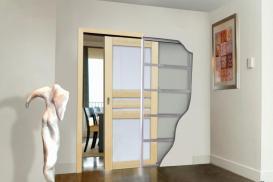 Montaż drzwi wewnętrznych przesuwnych