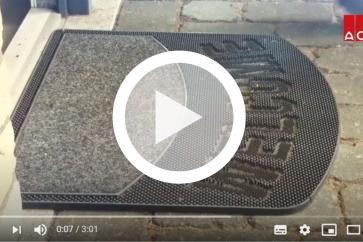 Jak zamontować wycieraczkę do obuwia ACO Self Vario?