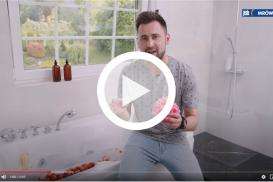 Relaks w łazience oraz piękny wystrój w sypialni z firmą Ravi