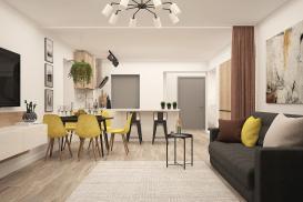 Wielofunkcyjna przestrzeń dzienna w nowoczesnym domu